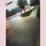 Brampton Roads with Water Build Up